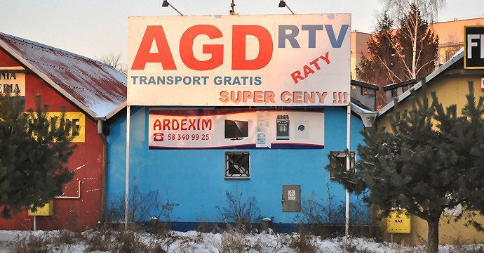 Ardexim Gdańsk Zaspa obok ETC